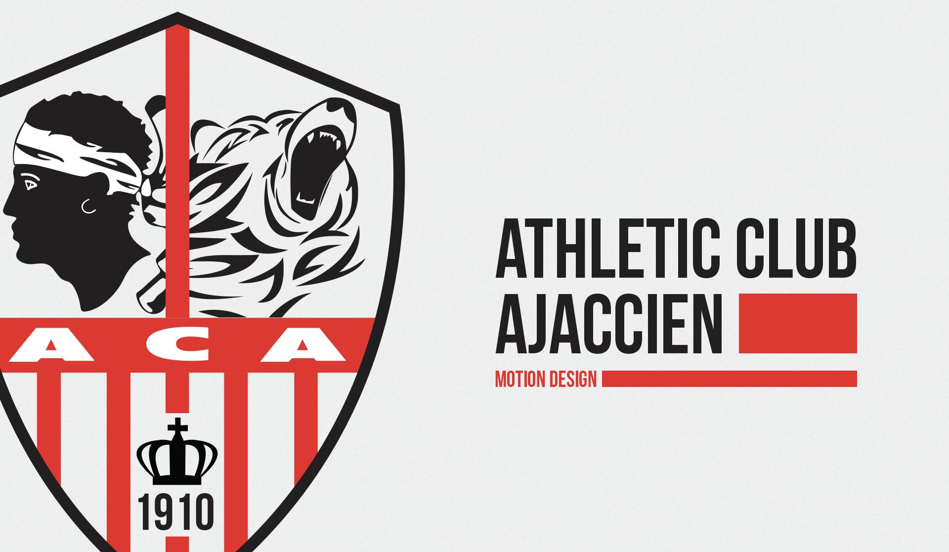 AC Ajaccio - Motion Design