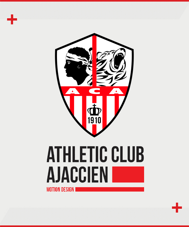 AC Ajaccio - Motion Design